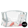 Urban Glow Beauty Case Zipper Cosmetic Bag
