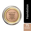 Max Factor Miracle Touch Foundation, 75 Golden (11,2 g)