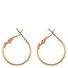 Snö Of Sweden Mystique Small Ring Earring, Plain Gold (20mm)