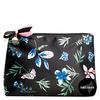 Shelas Kosmetiktasche, blaue Blumen