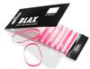 Blax Snag-Free Hair Elastics 4 mm (8 Stk.), Pink