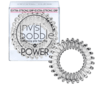 Invisibobble 3 Extra Strong Hair Rings, Crystal Clear