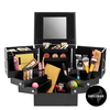Shelas Deluxe Cosmetic Organizer Black