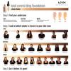 NYX Professional Makeup Total Control Drop Foundation Medium Olive TCDF09 13ml