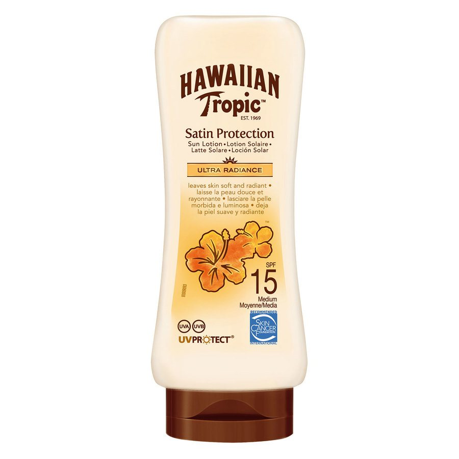 Hawaiian Satin Protection Sun Lotion LSF 15 (180 ml)
