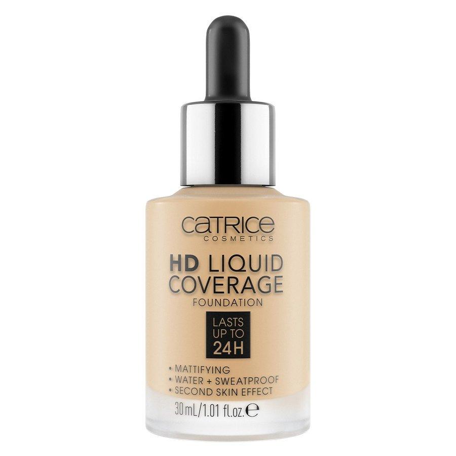 Catrice HD Liquid Coverage Foundation, 037 Golden Beige 30 ml