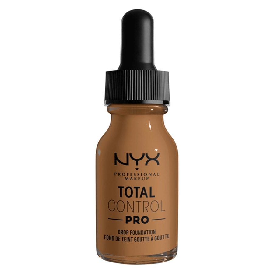 NYX Professional Makeup Total Control Pro Drop Foundation, Nutmeg 13 ml