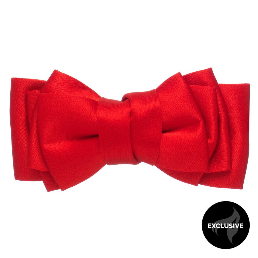 Shelas Schleifenspange, Rot