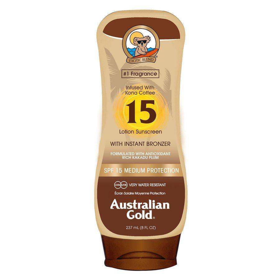 Australian Gold LSF 15 Lotion Bronzer (237 ml)