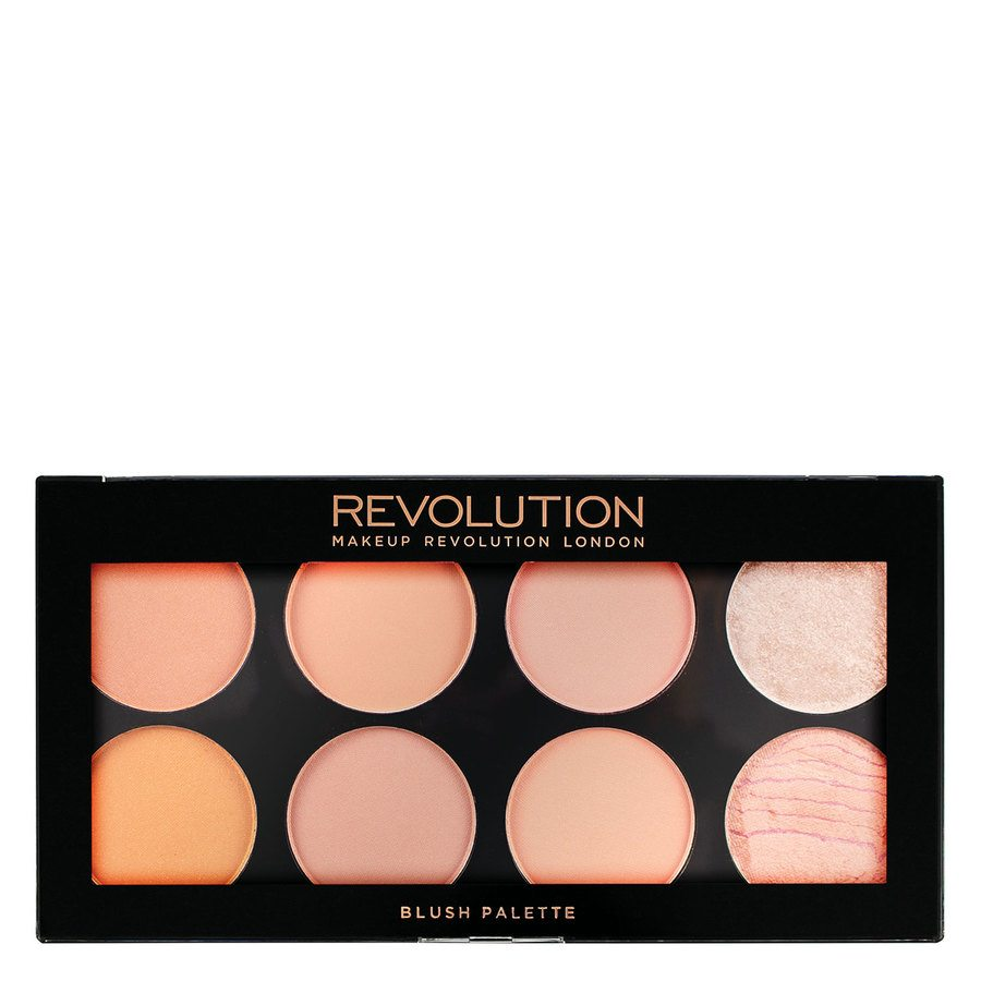 Makeup Revolution Ultra Blush Palette Hot Spice 12,8g