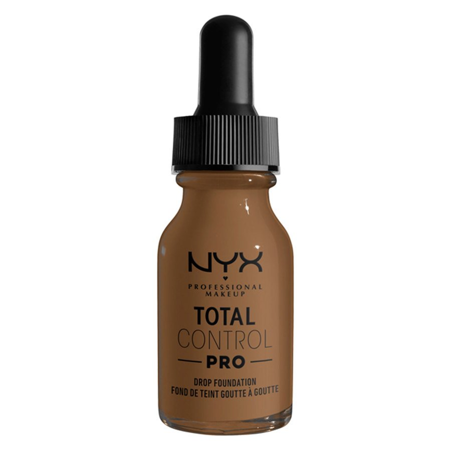 NYX Professional Makeup Total Control Pro Drop Foundation, Deep Sable 13 ml