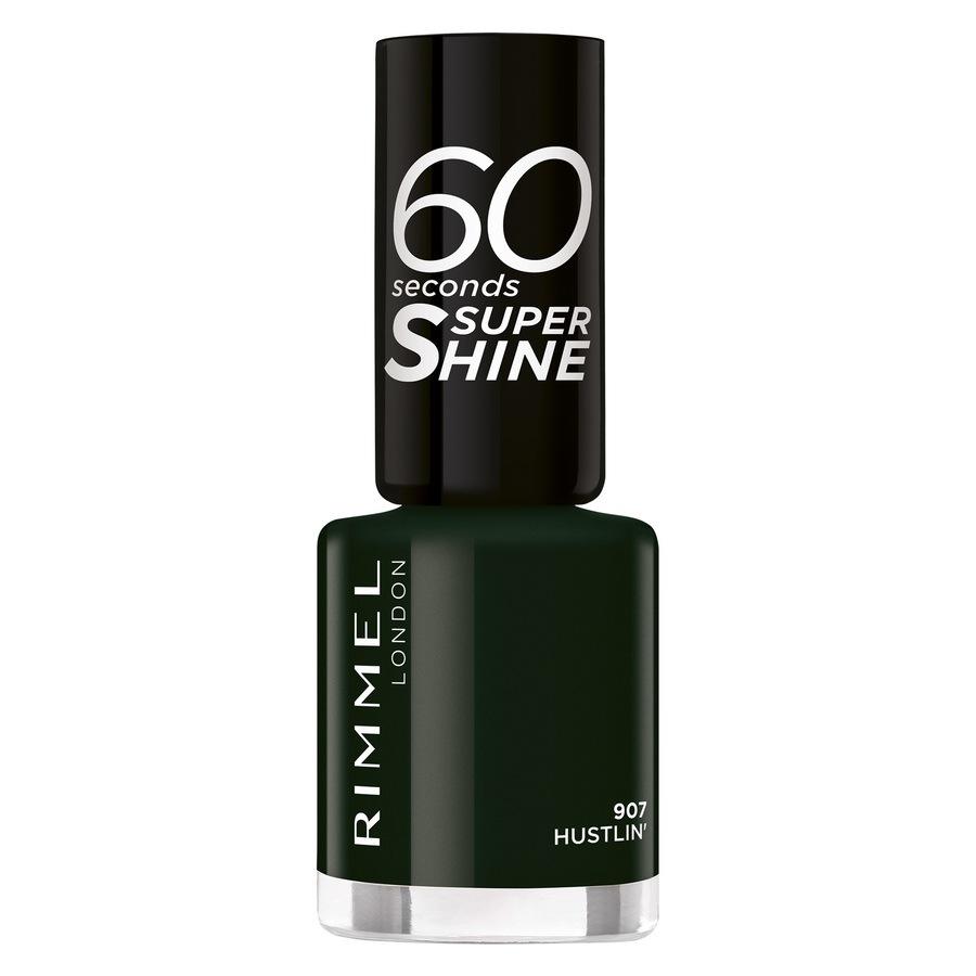 Rimmel London 60 Seconds Super Shine, 907 Hustlin (8 ml)