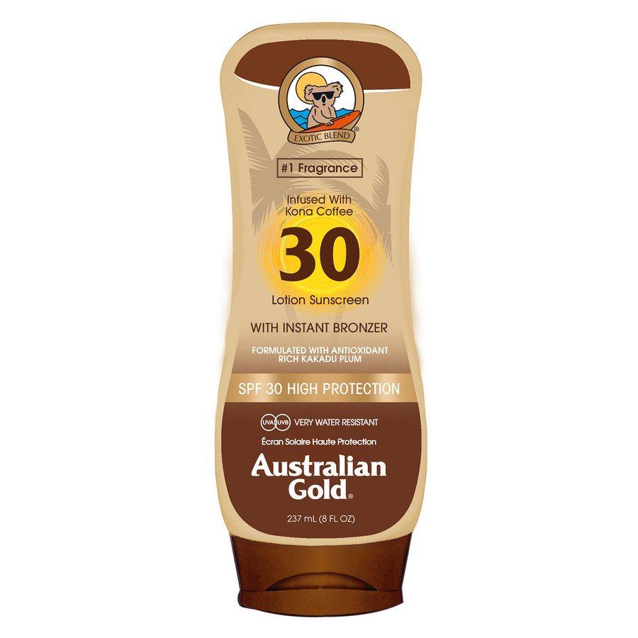 Australian Gold LSF 30 Lotion Bronzer (237 ml)