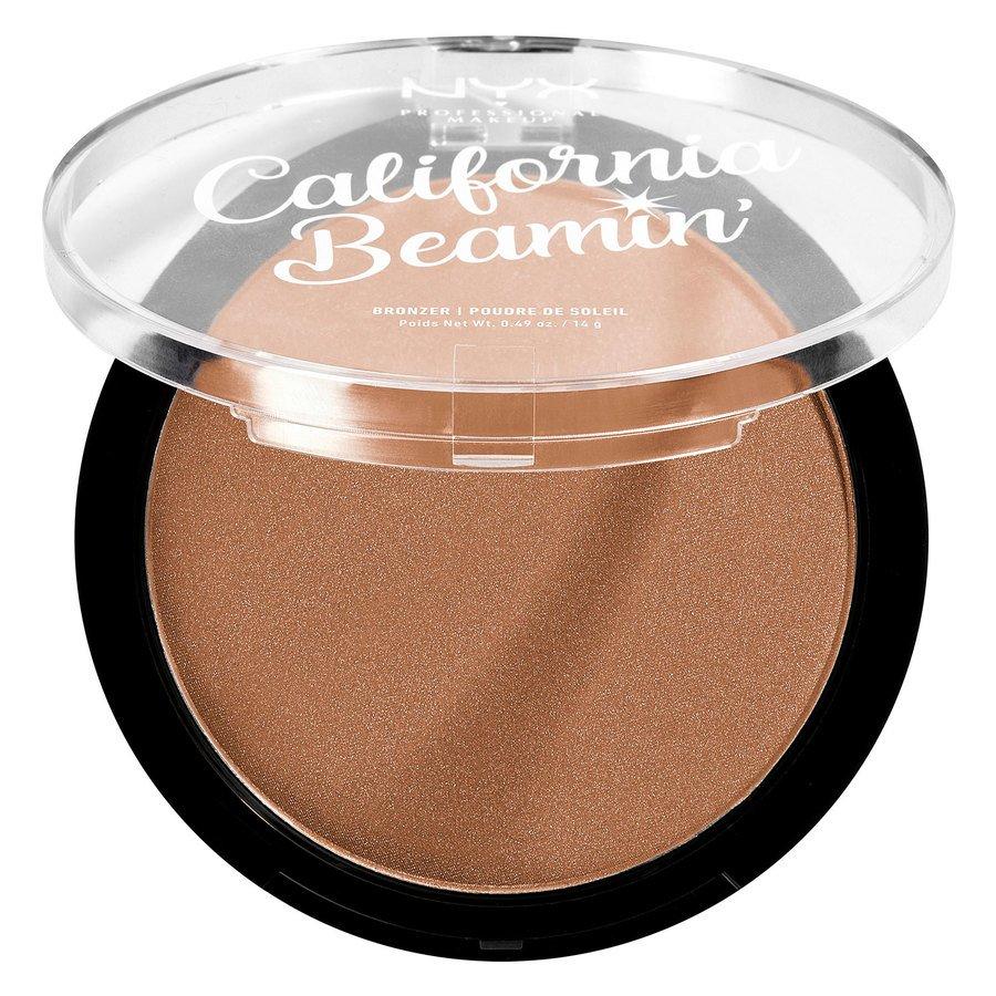 NYX Professional Makeup California Beamin' Face & Body Bronzer, Sunset Vibes 14g