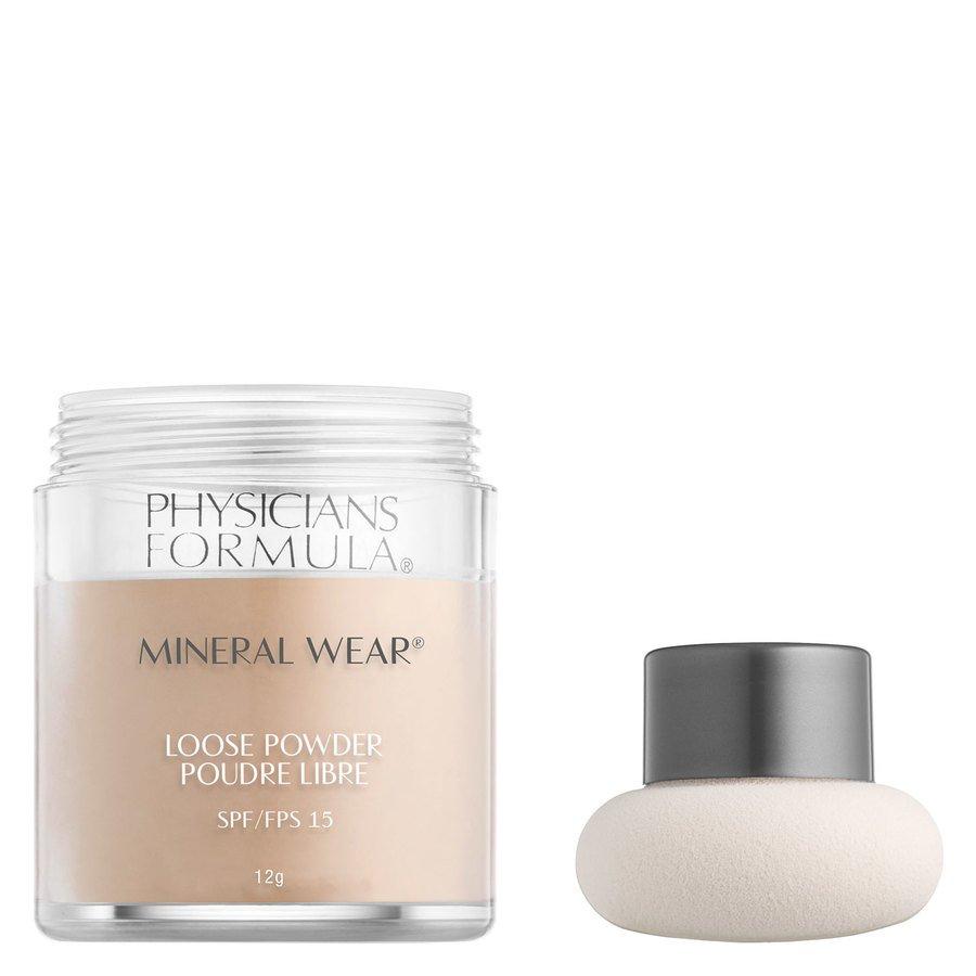 Physicians Formula Mineral Wear® Loose Powder SPF15, Translucent Light (12 g)