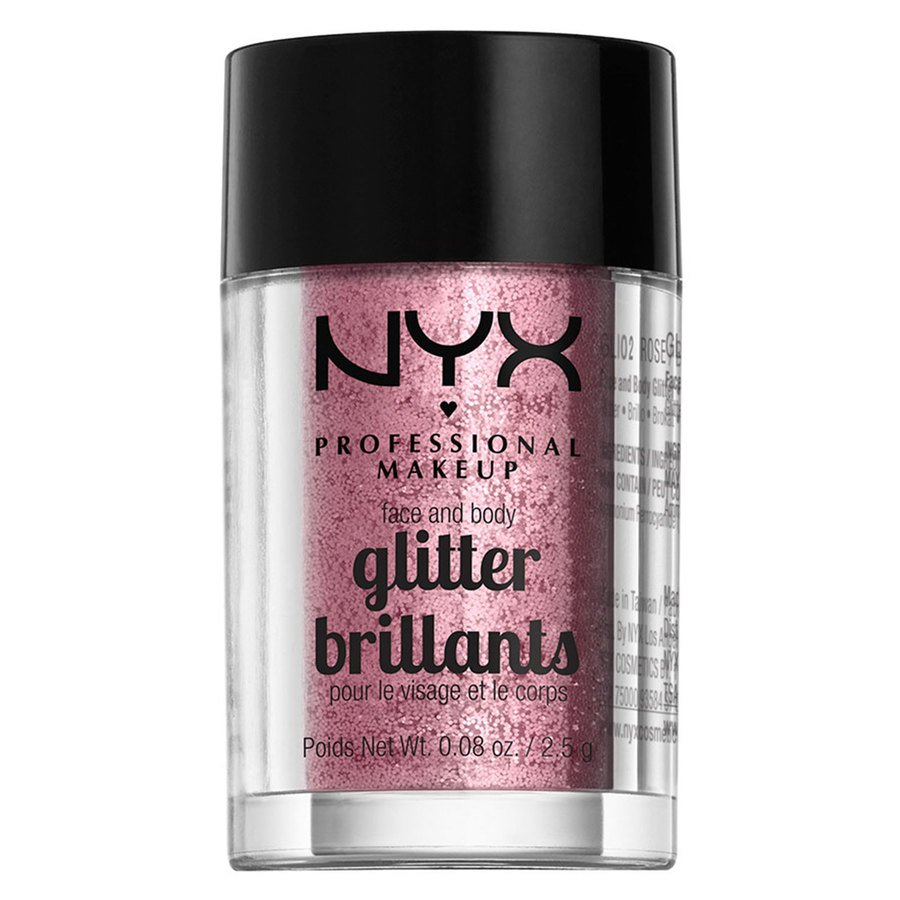 NYX Professional Makeup Face And Body Glitter, GLI02 (2,5 g)