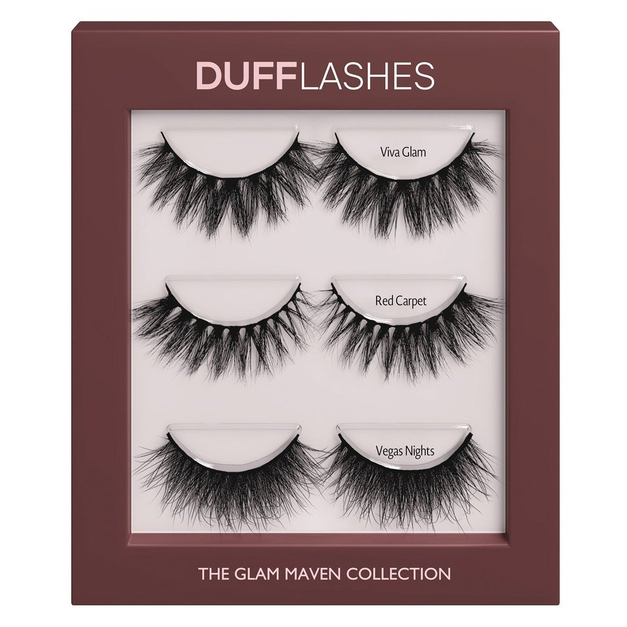 DUFFBeauty The Glam Maven Collection 3 Paar