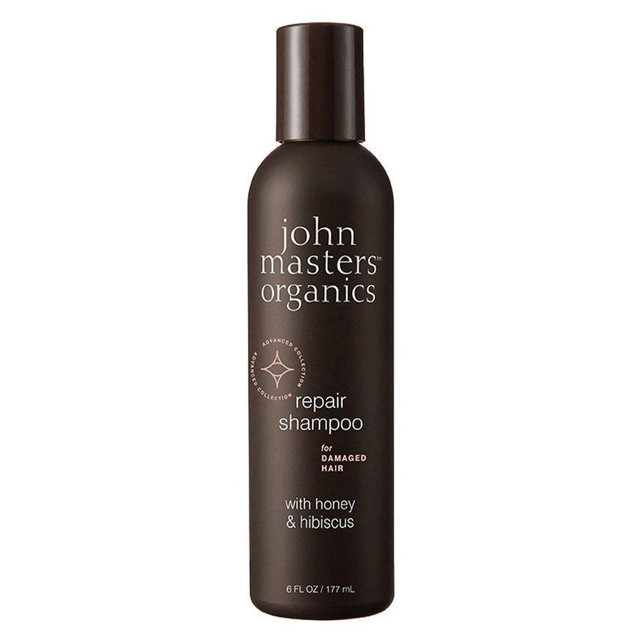 John Masters Organics Repair Shampoo For Damaged Hair With Honey & Hibiscus (177 ml)