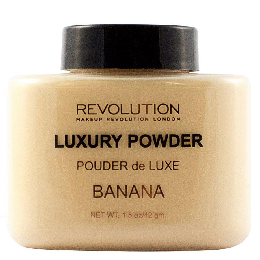 Makeup Revolution Luxury Baking Powder, Banana (42 g)