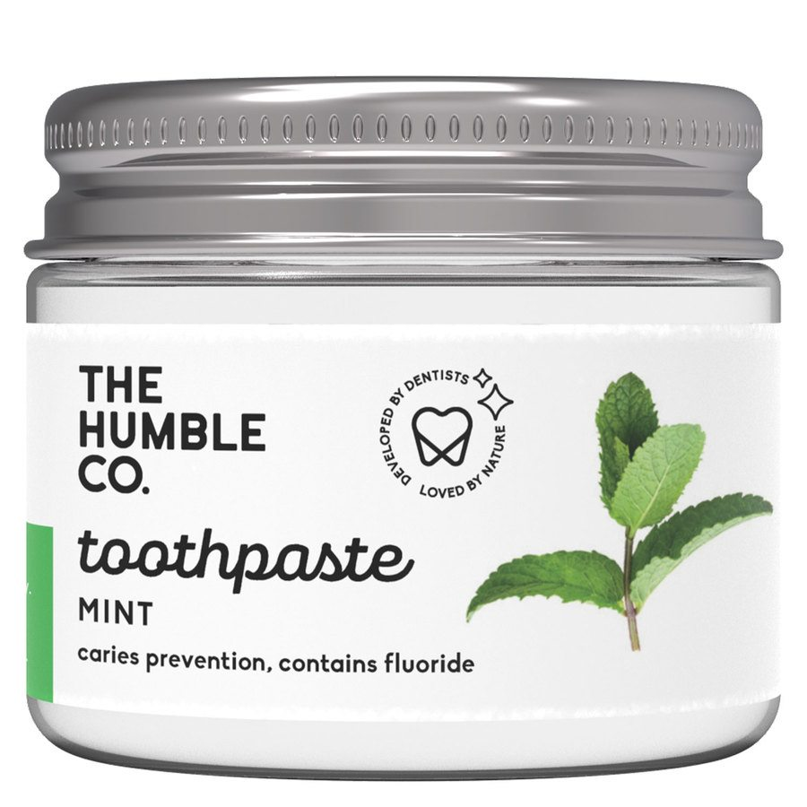 The Humble Co Humble Natural Toothpaste In Jar, Fresh Mint 50ml