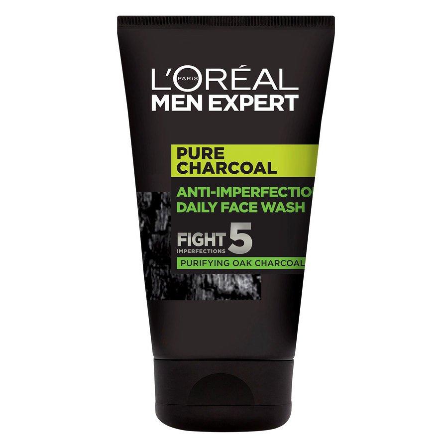 L'Oréal Paris Men Expert Pure Charcoal Anti-Imperfections Daily Face Wash 100ml
