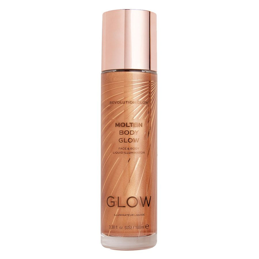 Makeup Revolution Molten Body Glow, Bronze (100 ml)