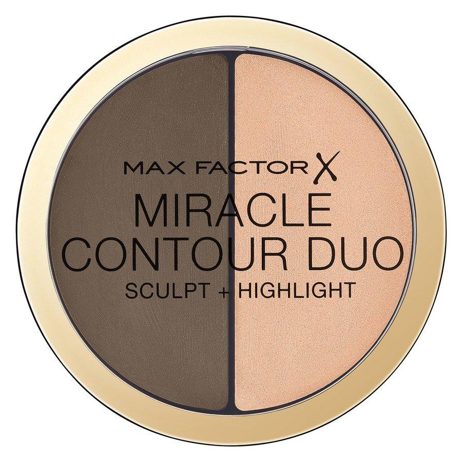 Max Factor Miracle Contour Duo, Medium/Deep (8 g)