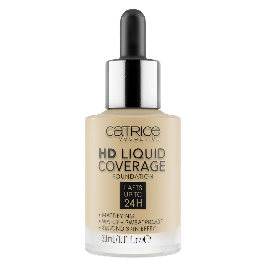 Catrice HD Liquid Coverage Foundation, 036 Hazelnut Beige 30 ml