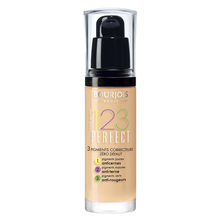 Bourjois 1,2,3 Perfect Foundation, 54 Beige (30 ml)