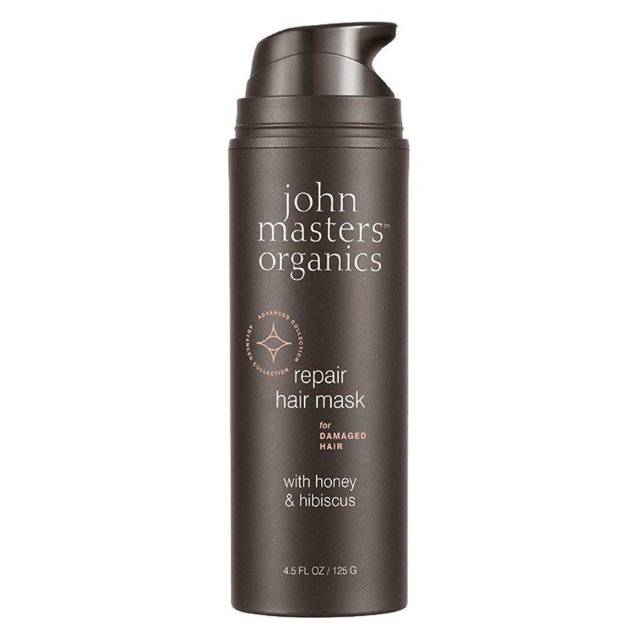 John Masters Organics Repair Hair Mask For Damaged Hair With Honey & Hibiscus (125 g)
