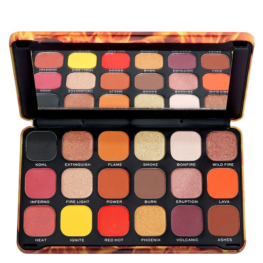 Makeup Revolution Forever Flawless, Fire Palette