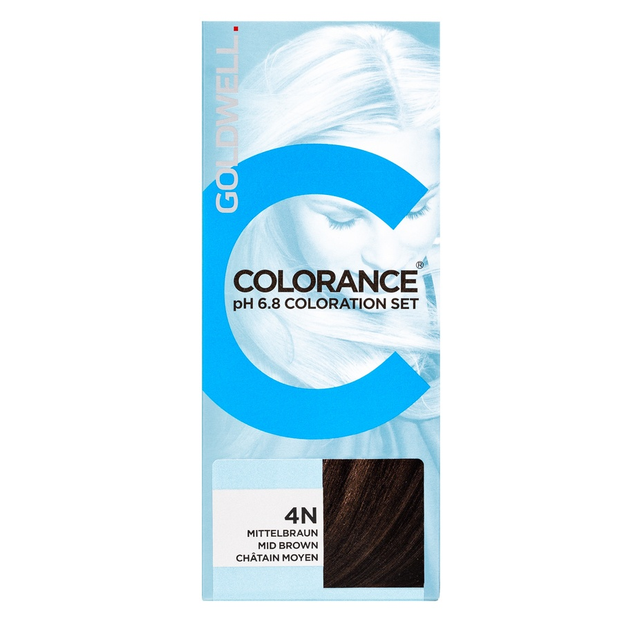 Goldwell Colorance pH 6,8 Coloration Set, 4N Mid Brown (90 ml)
