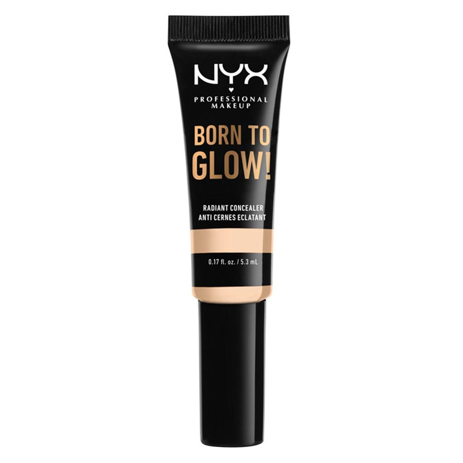 NYX Professional Makeup Born To Glow Radiant Concealer, Pale (5,3 ml)