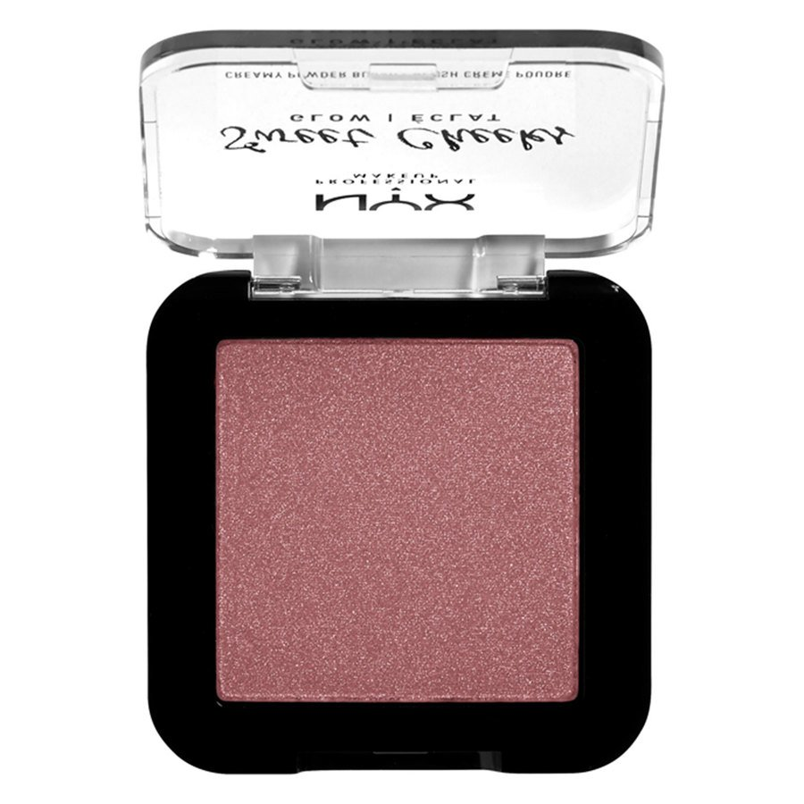 NYX Professional Makeup Sweet Cheeks Creamy Powder Blush Glow, Fig (5 g)