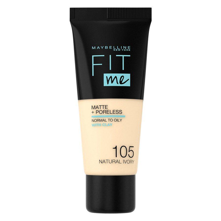 Maybelline Fit Me Makeup Matte + Poreless Foundation 105 30-ml-Tube