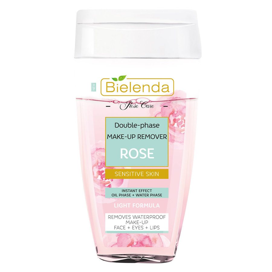 Bielenda Rose Care Double-Phase Make-Up Remover Rose 140 ml