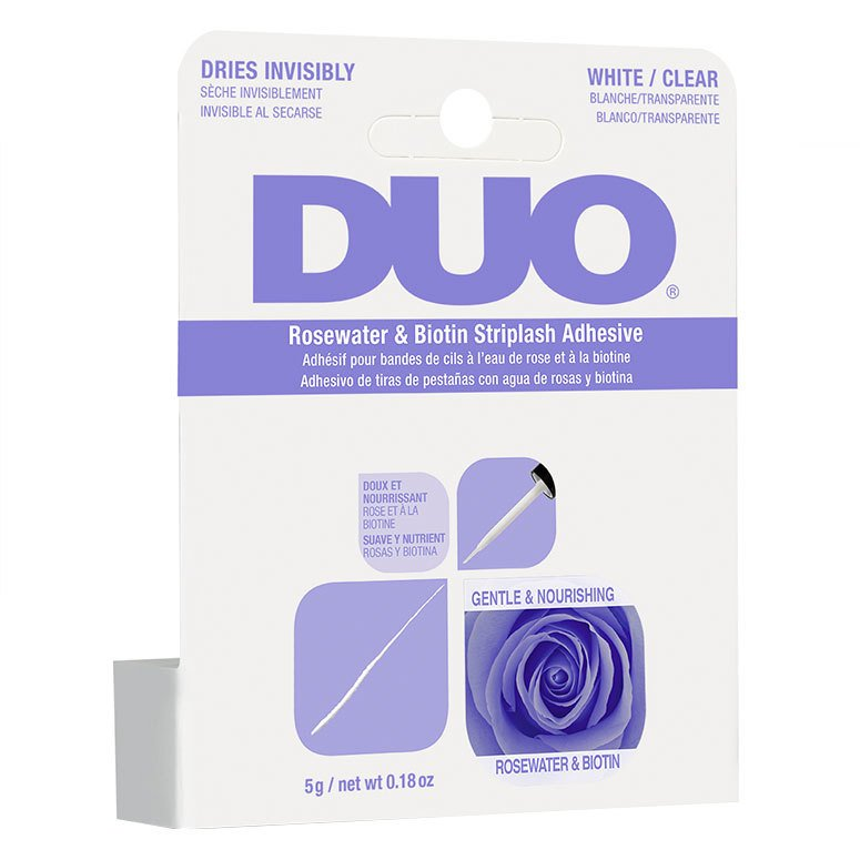 Ardell Duo Biotin Rose Striplash Adhesive, Clear 5g