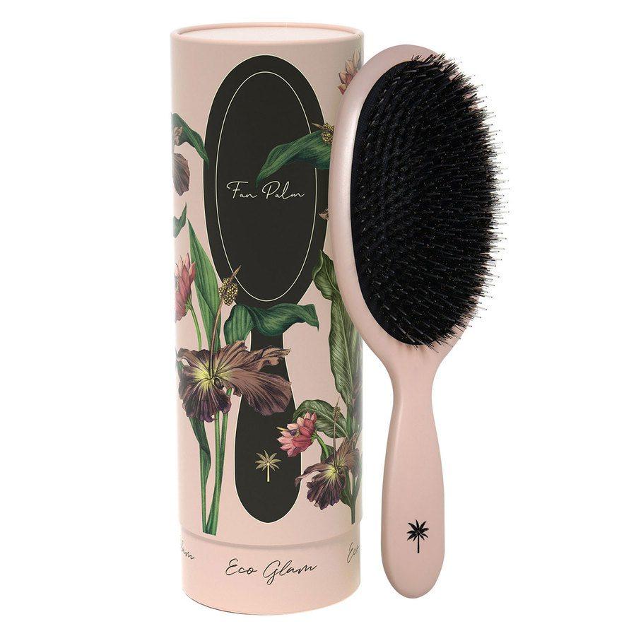 Fan Palm Boar & Nylon Brush Large, Eco Glam