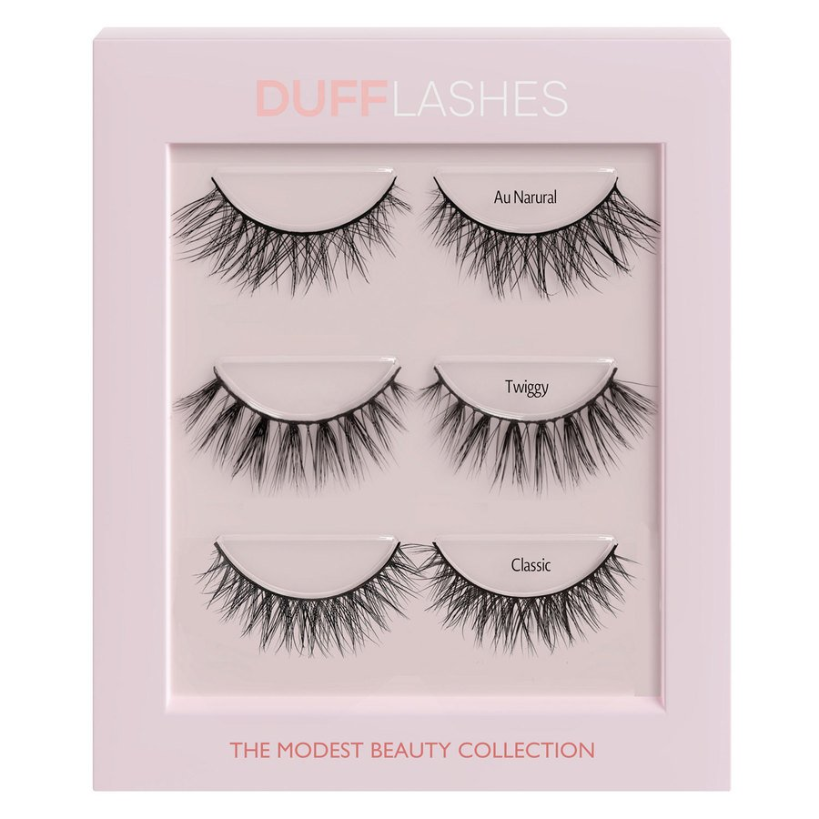 DUFFBeauty The Modest Beauty Collection 3 Paar