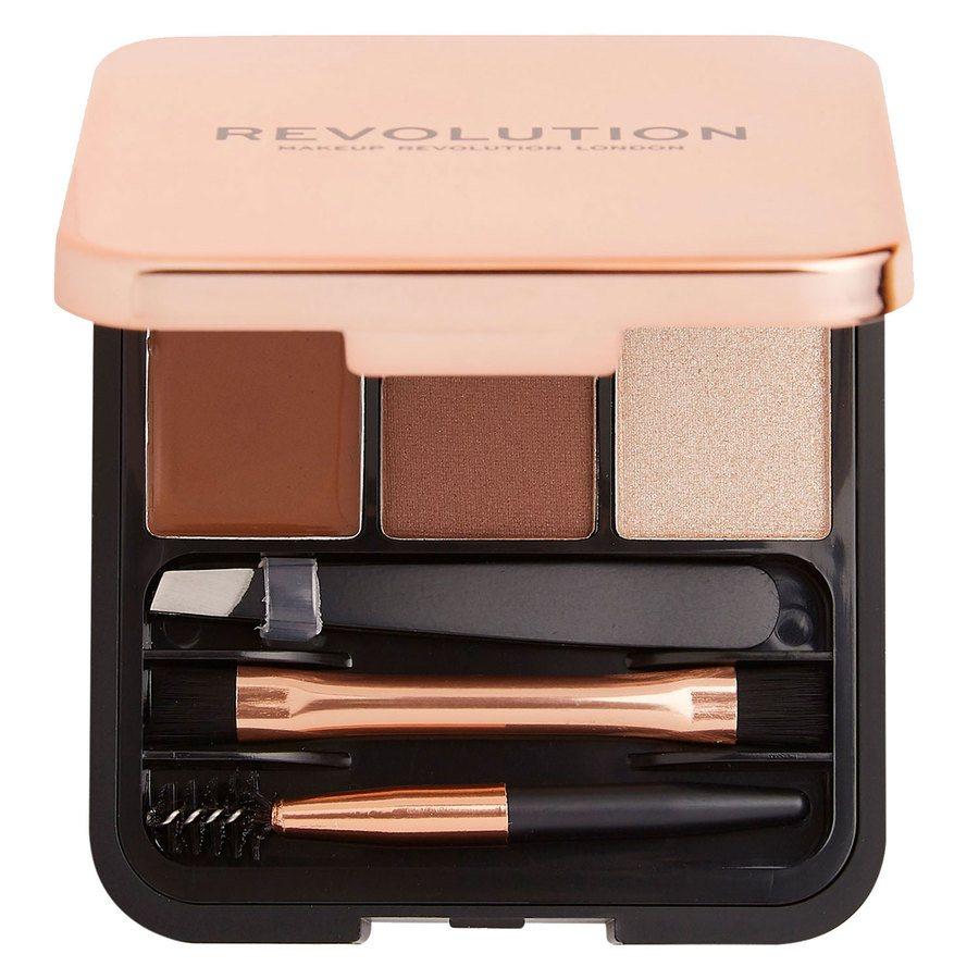 Makeup Revolution Brow Sculpt Kit, Medium