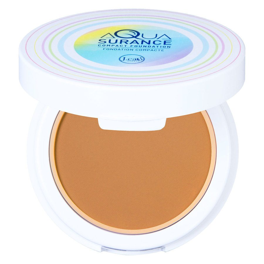 J.Cat Aquasurance Compact Foundation, Golden Beige 9g