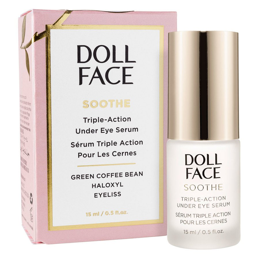Doll Face Soothe Undereye Puffiness Serum (15ml)