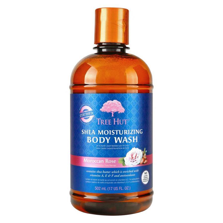 Tree Hut Shea Moisturizing Body Wash, Moroccan Rose 503 ml