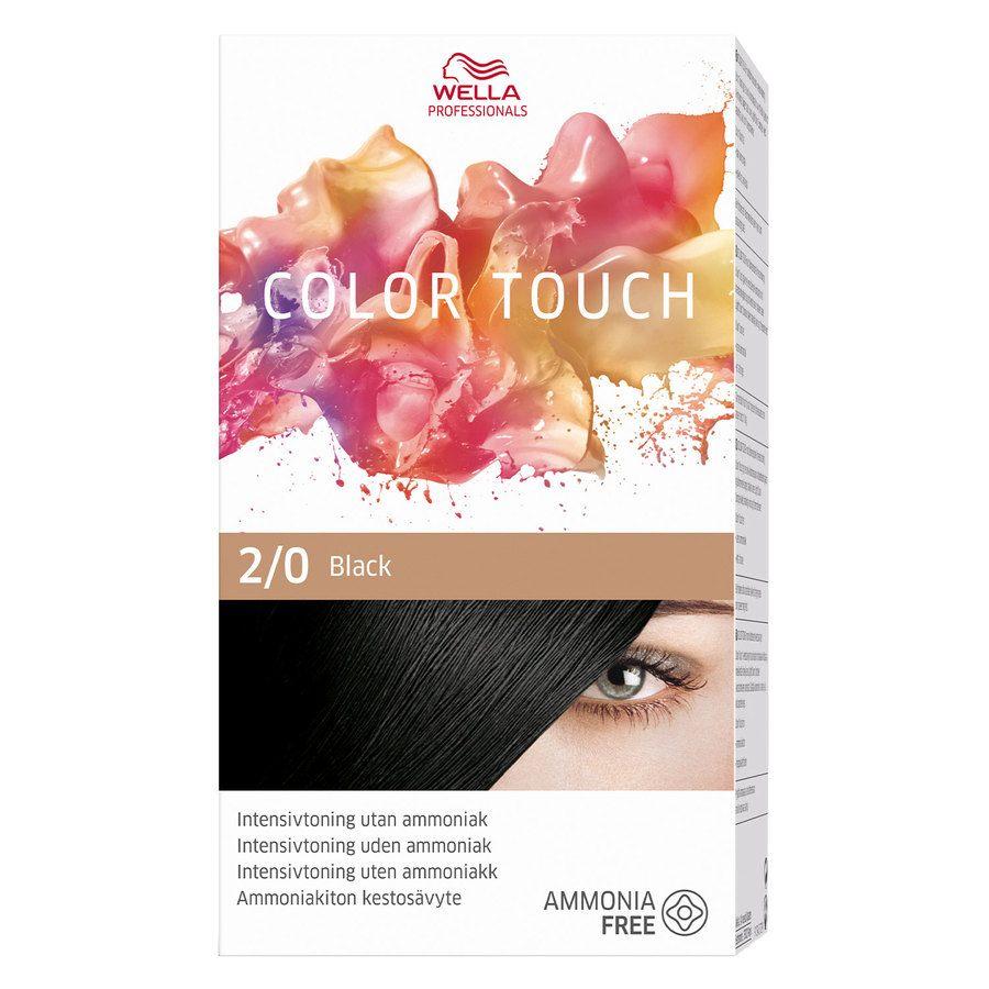 Wella Professionals Color Touch (100 ml), 2/0 Pure Naturals