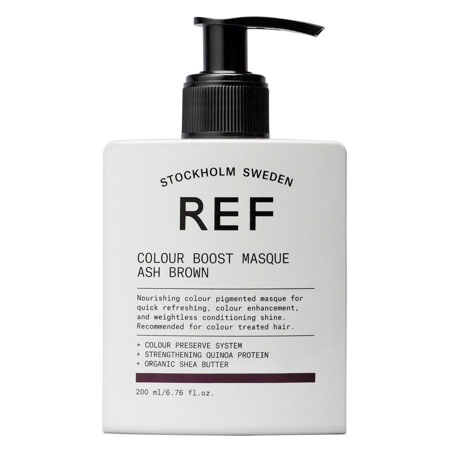 REF Colour Boost Masque, Ash Brown (200 ml)