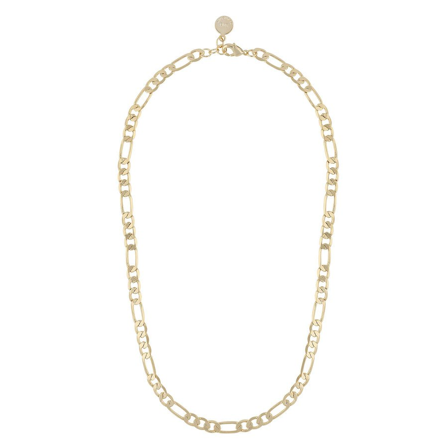 Snö Of Sweden Anchor Chain Necklace (42cm), Plain Gold