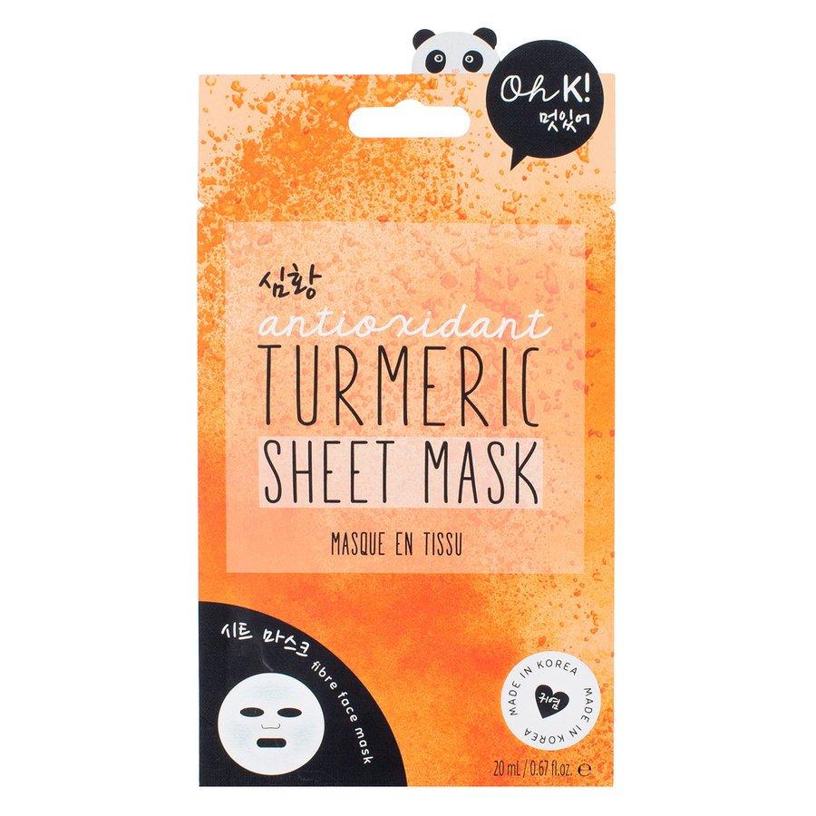 Oh K! Turmeric Sheet Mask (20ml)