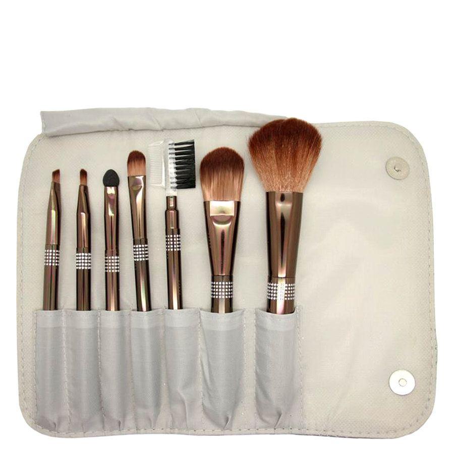 Smashit Cosmetics Shiny Silver Brush Set (7-teilig)