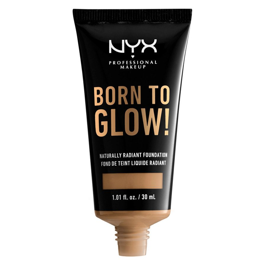 NYX Professional Makeup Born To Glow Naturally Radiant Foundation, # 13 Golden (30 ml)