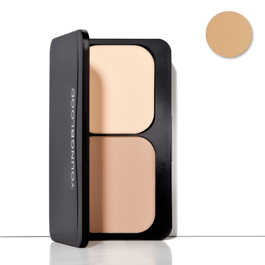 Youngblood Pressed Mineral Foundation, Toffee (8 g)